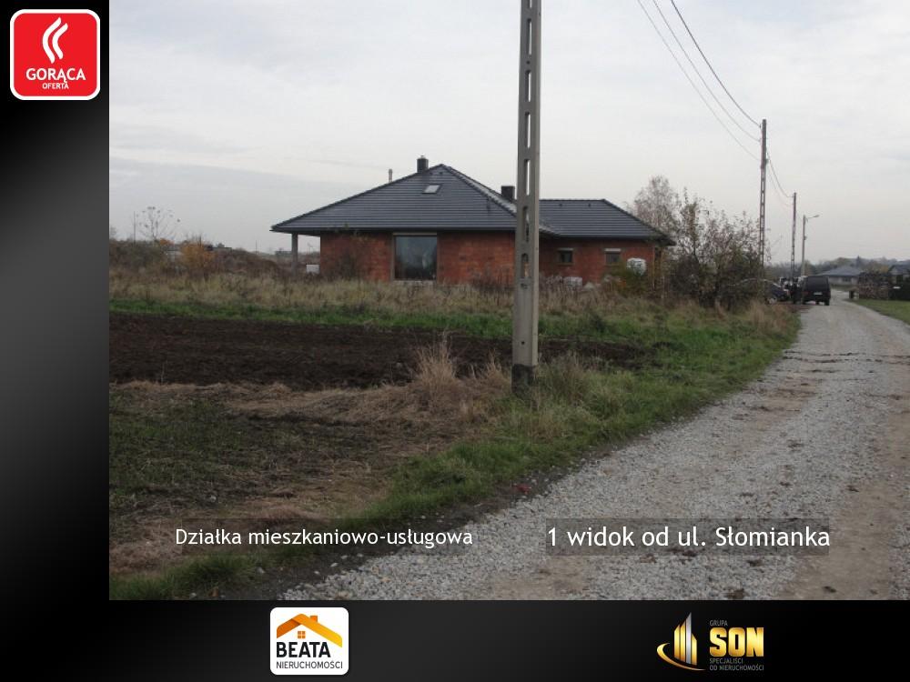 Nieruchomości: 1 widok od ul. Słomianka