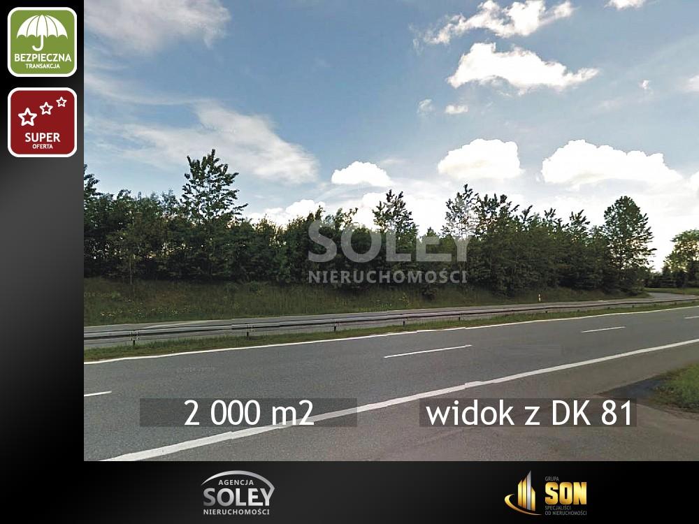 Nieruchomości: widok z DK 81