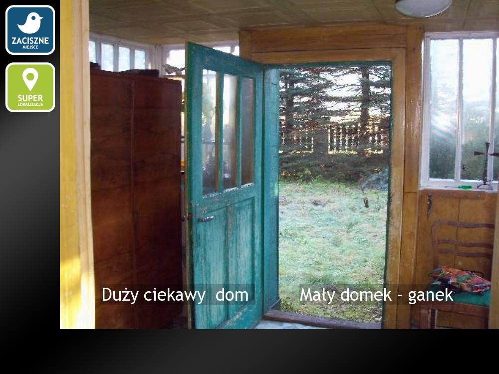 Mały domek - ganek