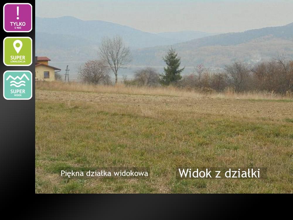 Nieruchomości: Widok z działki