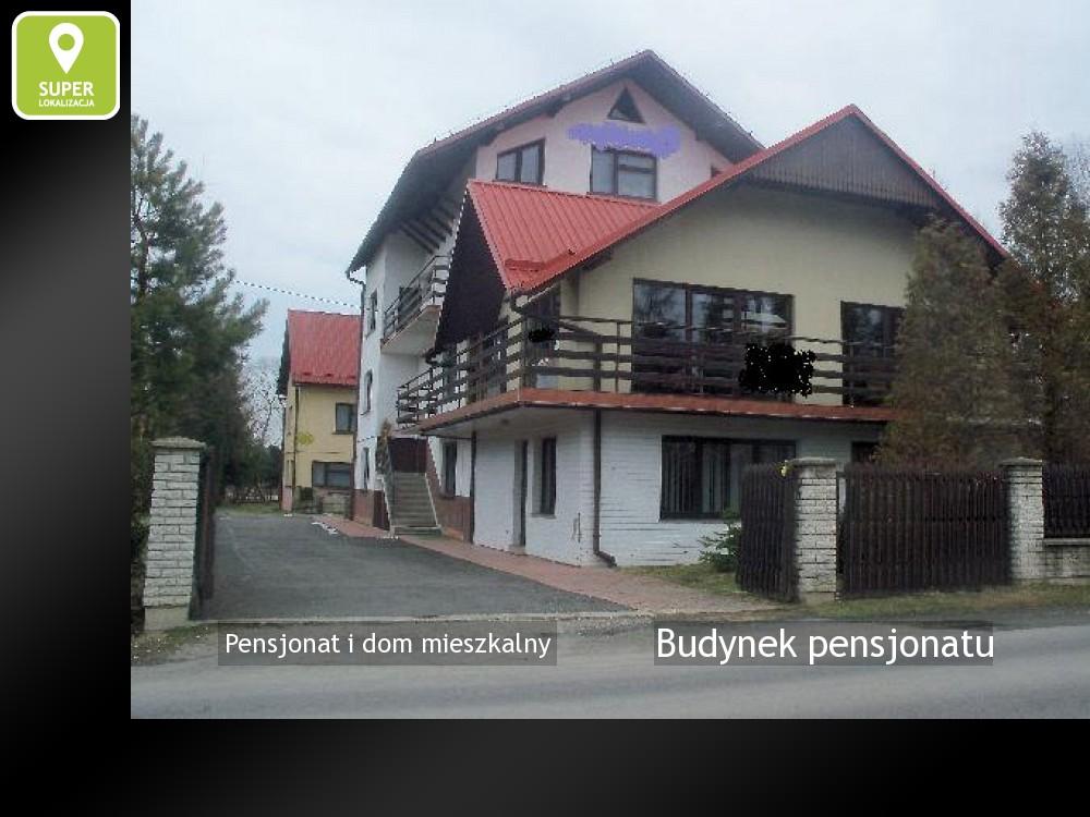Nieruchomości: Budynek pensjonatu