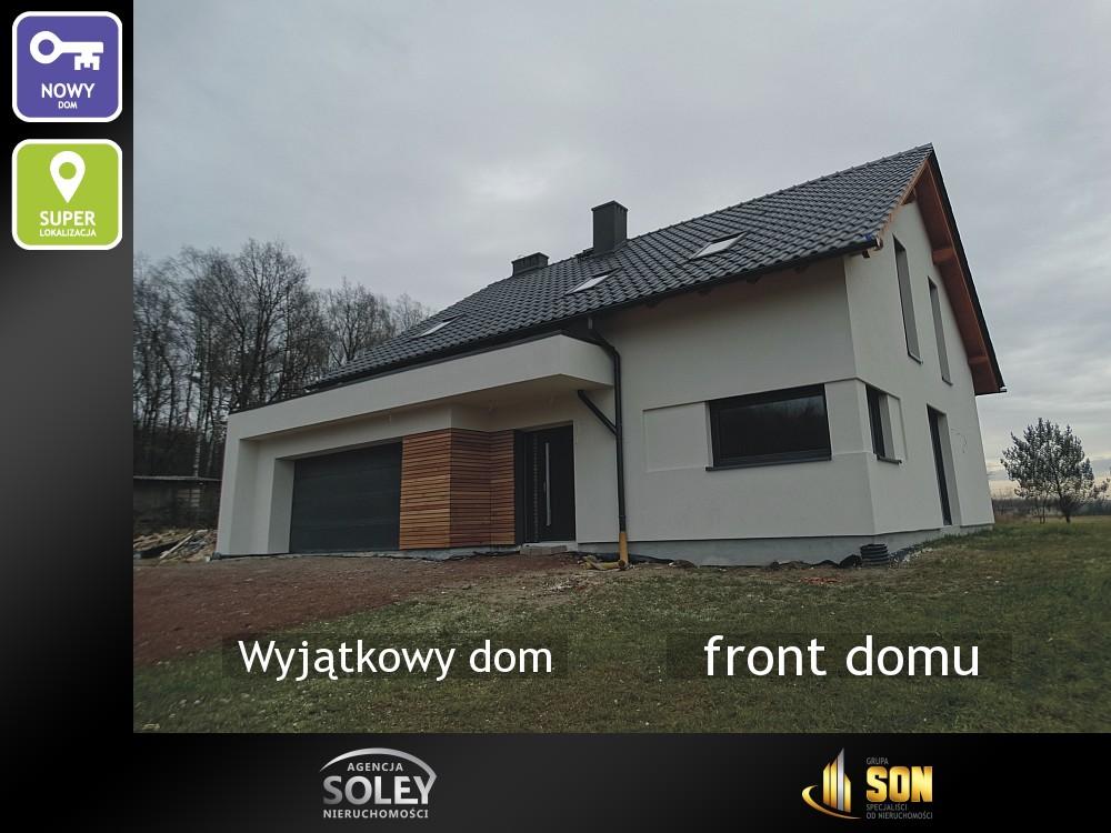 Nieruchomości: front domu