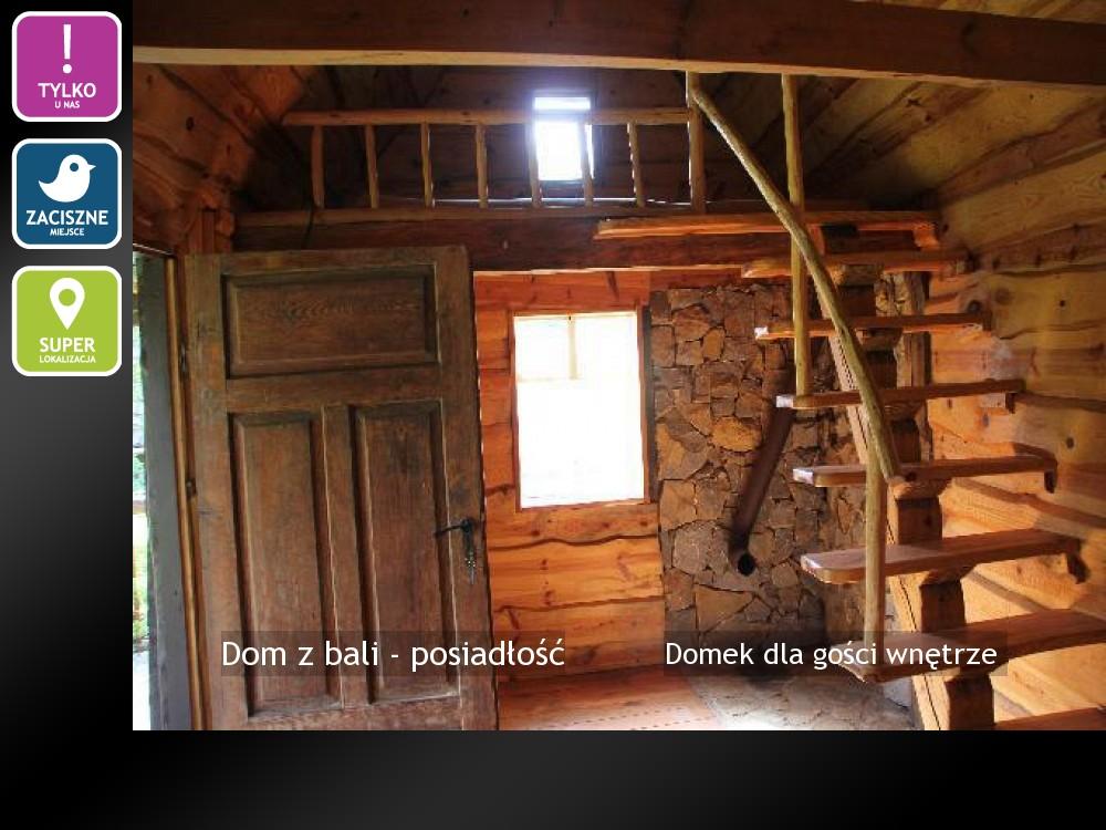 Domek dla gości wnętrze