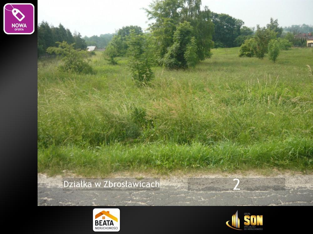Zbrosławice - Sprzedaż działki