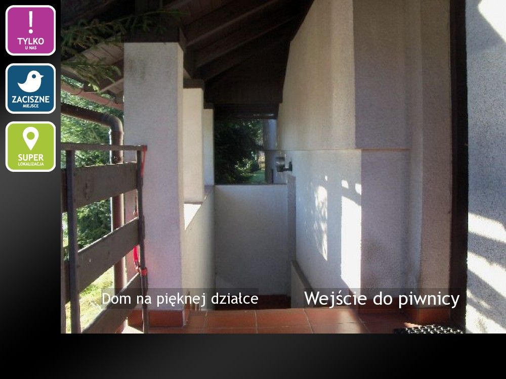 Wejście do piwnicy