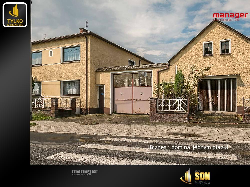 Nieruchomości: Biznes i dom na jednym placu!