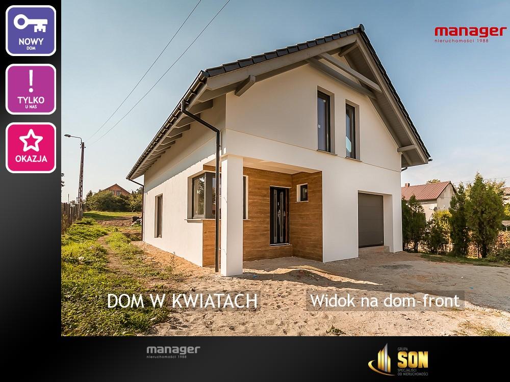 Nieruchomości: Widok na dom-front