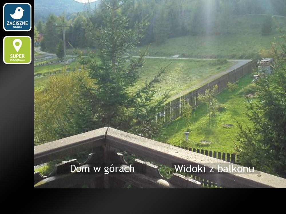 Widoki z balkonu