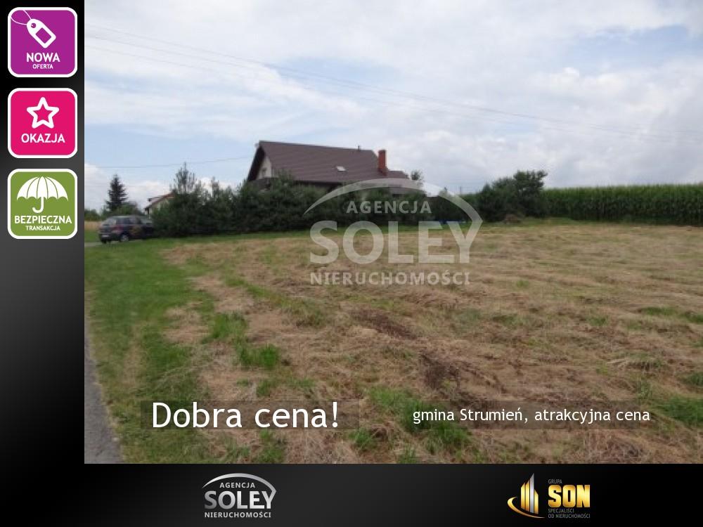 Nieruchomości: gmina Strumień, atrakcyjna cena