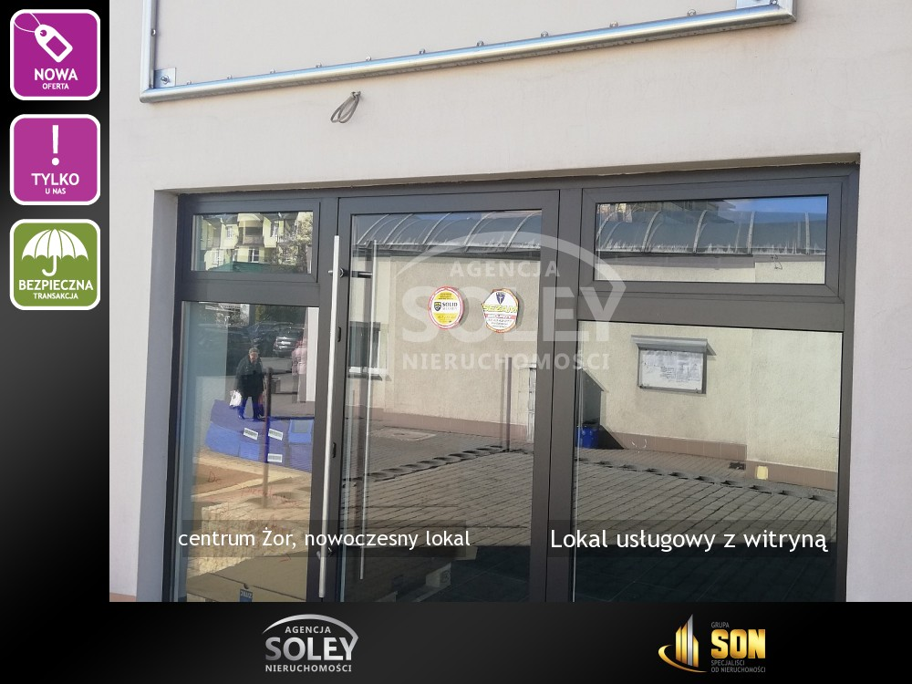 Nieruchomości: Lokal usługowy z witryną