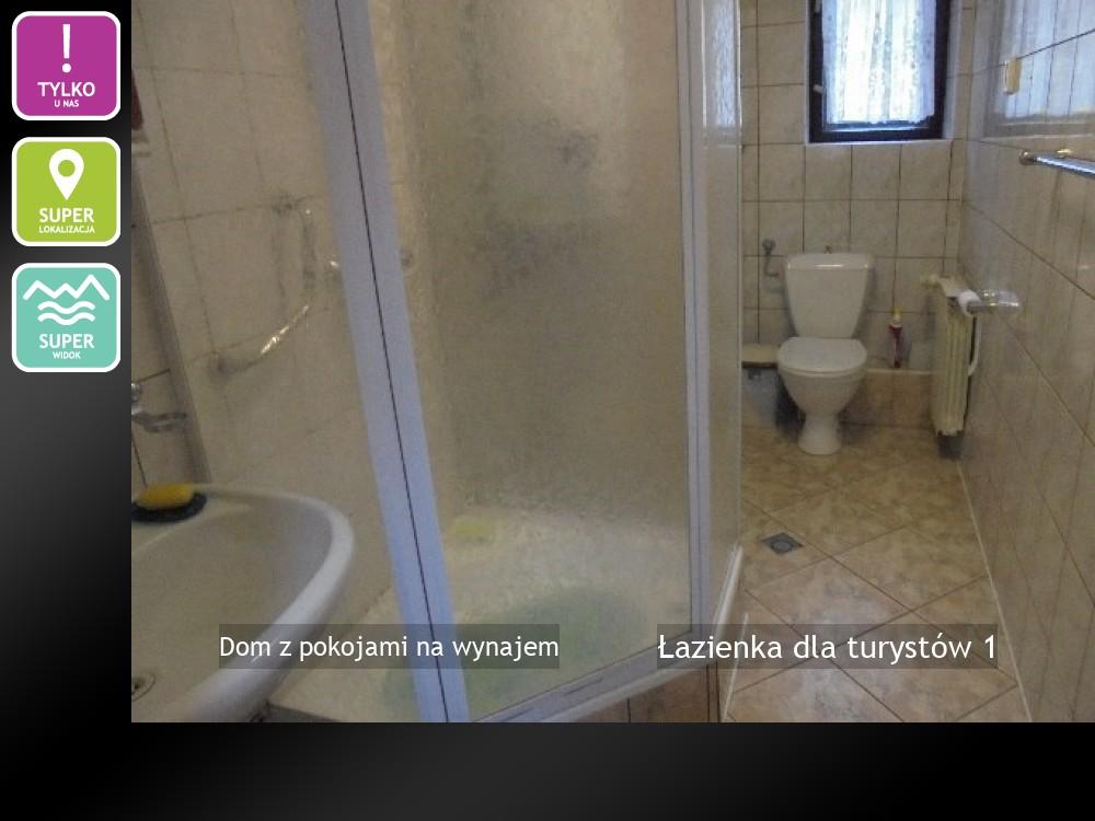 Łazienka dla turystów 1