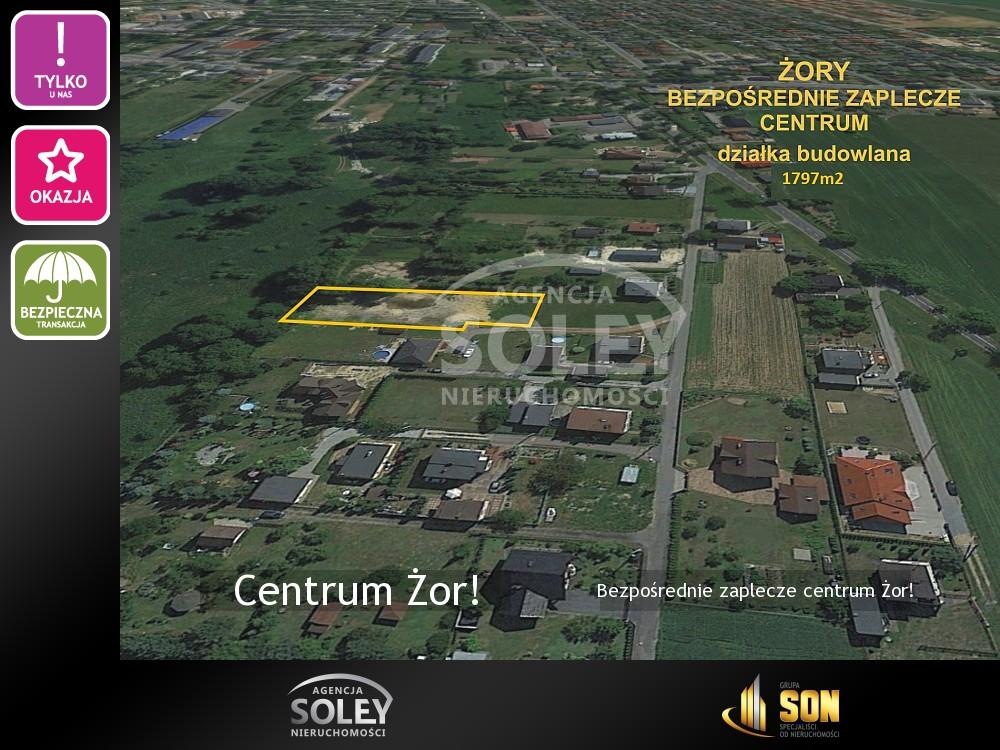 Nieruchomości: Bezpośrednie zaplecze centrum Żor!