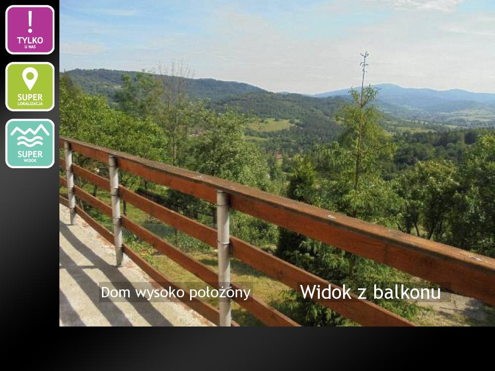 Nieruchomości: Widok z balkonu