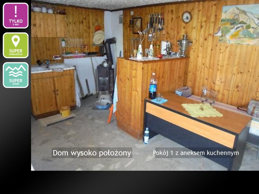 Pokój 1 z aneksem kuchennym