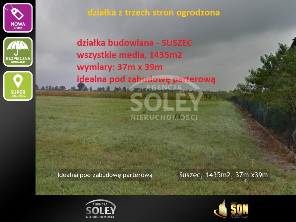 Suszec, 1435m2, 37m x39m