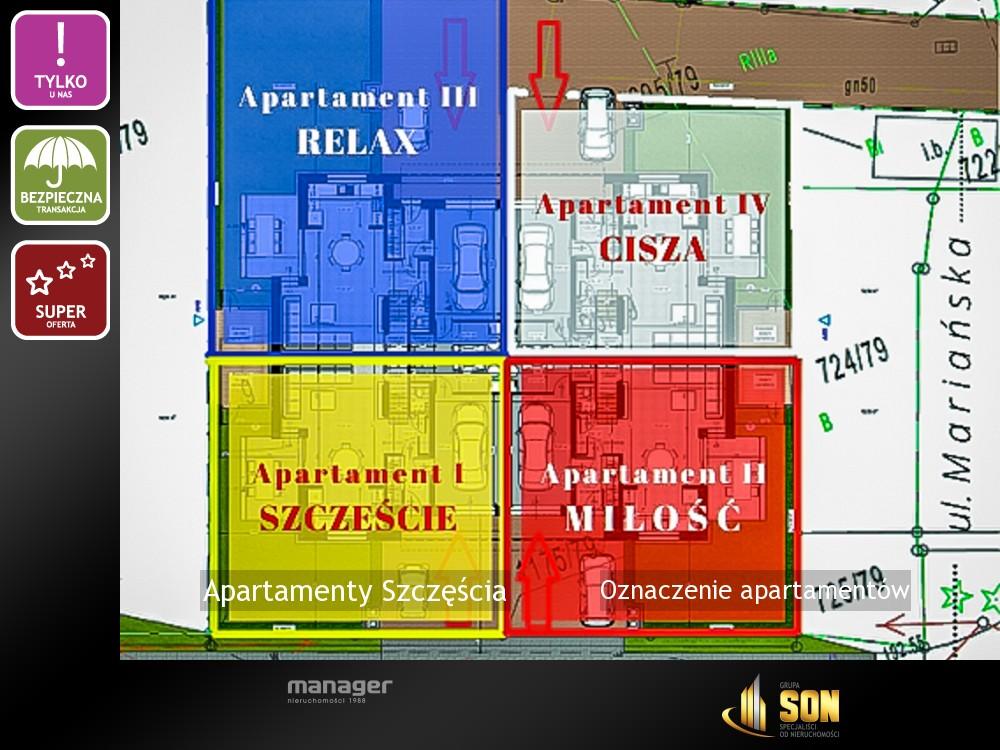 Oznaczenie apartamentów
