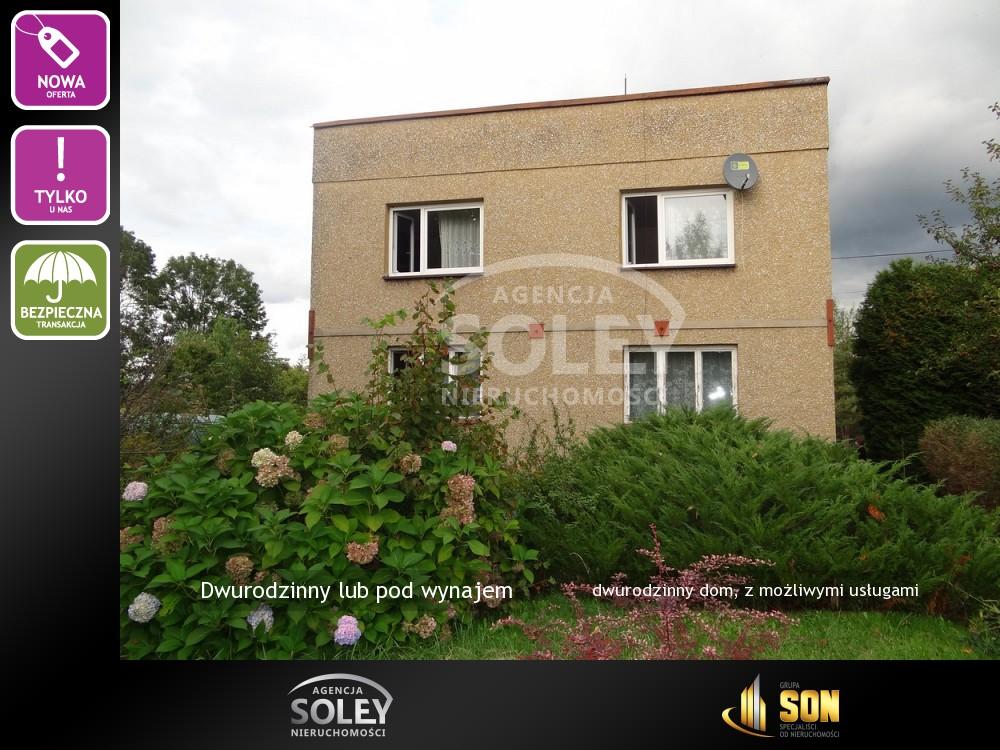 Nieruchomości: dwurodzinny dom, z możliwymi usługami