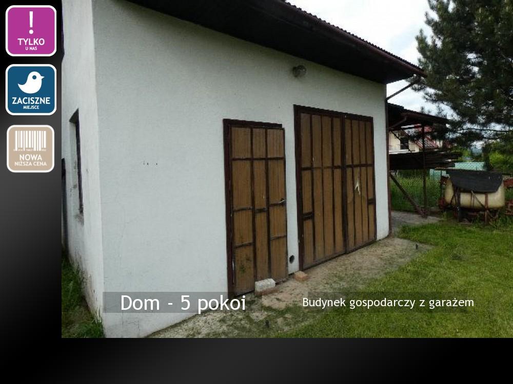 Budynek gospodarczy z garażem