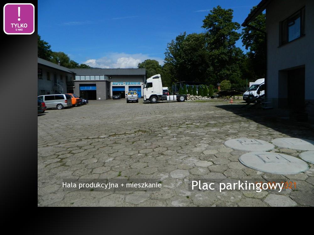 Plac parkingowy