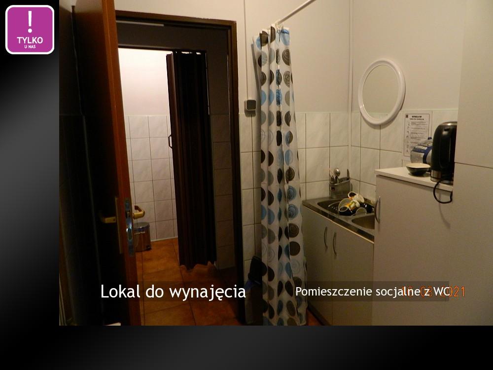 Pomieszczenie socjalne z WC