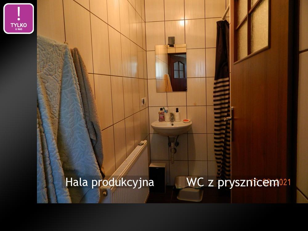 WC z prysznicem