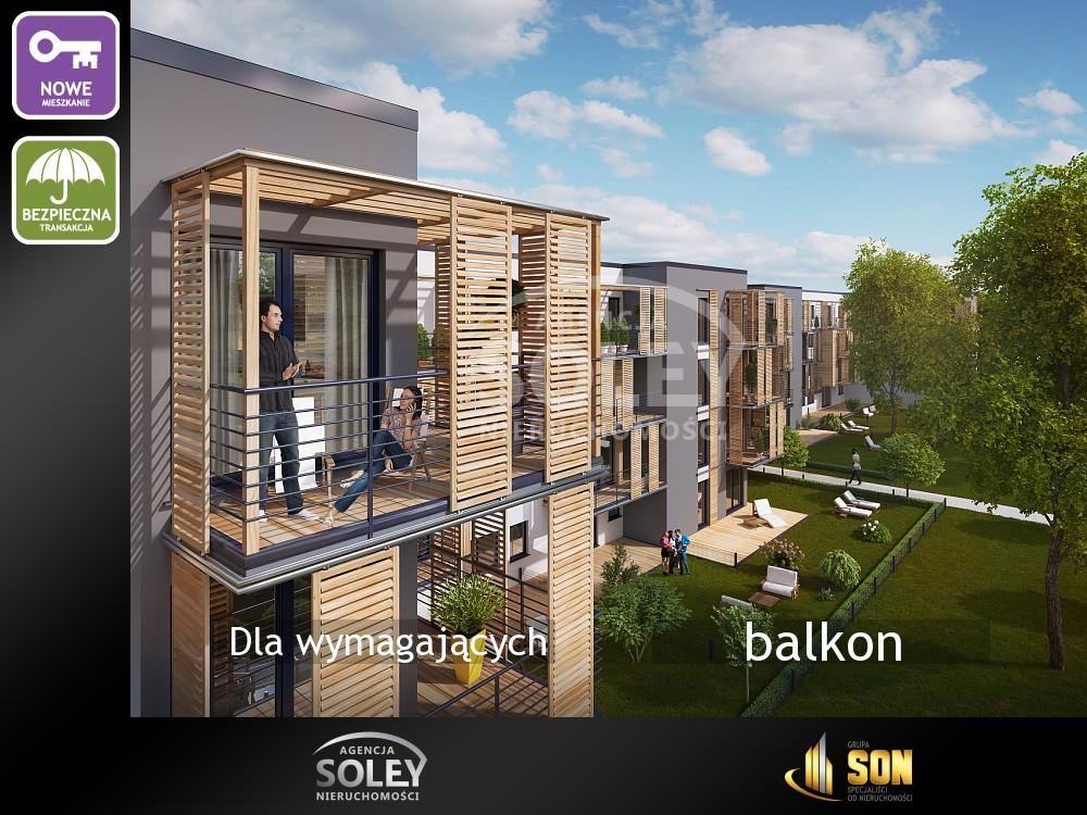 Nieruchomości: balkon